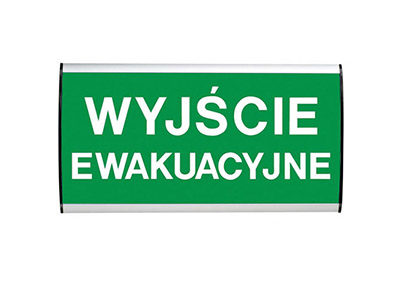 Tabliczka Wall Sign